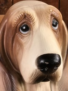 他の写真1: Hush Puppies Hound Dog Coin Bank Doll ハッシュパピー ビンテージ コインバンクドール 貯金箱フィギュア 70年代