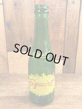 Squirt Glass Bottle スクワート ビンテージ ガラスボトル 瓶 40年代