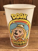 "Show Biz Pizza ""Dook"" Paper Cup ショービズピザ ビンテージ ペーパーカップ 70年代"