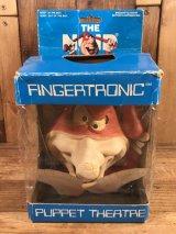 """Domino's Pizza """"The Noid"""" Fingertronic Puppet Theatre ノイド ビンテージ フィンガーパペット ドミノピザ 80年代"""