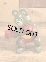 "Image Factory Sports Misha Bear ""Boxer"" PVC Figure こぐまのミーシャ ビンテージ PVCフィギュア オリンピック 70年代"