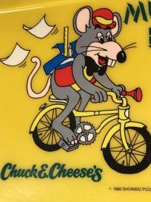 他の写真1: Chuck E Cheese's Munch Box チャッキーチーズ ビンテージ ランチボックス 80~90年代