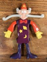 Betty Crocker Rollupo Wizard Bendy PVC Figure ベティクロッカー ビンテージ ベンダブルフィギュア フルーツストライプ 90年代