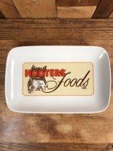 Hooters Foods Ceramic Plate Tray フーターズ ビンテージ トレー プレート 90年代~
