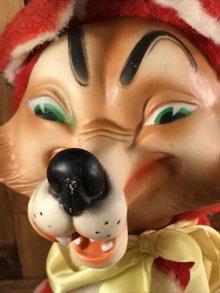 他の写真1: Big Bad Wolf Rubber Face Doll オオカミ ビンテージ ラバーフェイスドール ぬいぐるみ 50年代