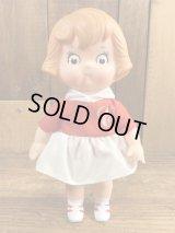 Campbell Kid Girl Collectible Doll キャンベルキッズ ビンテージ ソフビドール 80年代