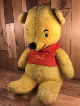 Walt Disney Winnie the Pooh Plush Doll くまのプーさん ビンテージ プラッシュドール ウォルトディズニー 60年代