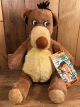 Walt Disney Jungle Book Baloo Plush Doll バルー ビンテージ プラッシュドール ジャングルブック 60年代