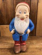 Walt Disney Snow White Grumpy Rubber Doll 七人の小人 ビンテージ ラバードール 白雪姫 ウォルトディズニー 50~60年代