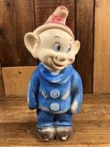 Walt Disney Snow White Dopey Rubber Doll 七人の小人 ビンテージ ラバードール 白雪姫 ウォルトディズニー 50~60年代