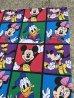 ミッキーマウス ビンテージ ベッドシーツ ディズニーキャラクター 90年代
