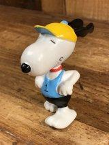 Peanuts Snoopy Runner PVC Figure スヌーピー ビンテージ PVCフィギュア ランナー 80年代
