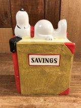 Peanuts Snoopy Savings Coin Bank スヌーピー ビンテージ コインバンク 貯金箱 70年代