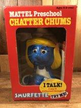 Mattel Smurfette Chatter Chums Talking Toy スマーフェット ビンテージ トーキングトイ チャッターチャムス 80年代