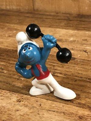 Smurf ヴィンテージ PVCフィギュア おもちゃ 70's