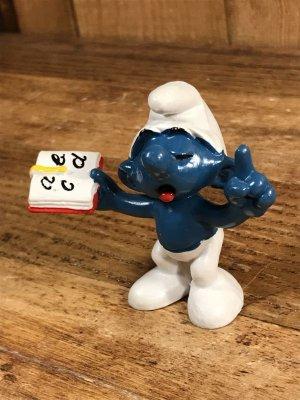 Smurf ヴィンテージ PVCフィギュア トイ 80's