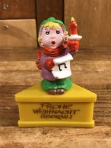 Schleich Christmas PVC Figure 讃美歌 ビンテージ PVCフィギュア 80年代
