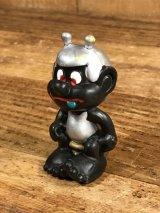 """Astrosniks """"Toilet"""" Black Color PVC Figure アストロスニック ビンテージ PVCフィギュア ブラックカラー 80年代"""