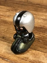 """Astrosniks """"Sled"""" Black Color PVC Figure アストロスニック ビンテージ PVCフィギュア ブラックカラー 80年代"""
