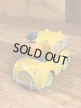 "Sesame Street Bert ""Playskool Bus"" Digest Minicar セサミストリート ビンテージ ミニカー バート 80年代"