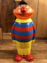 Sesame Street Ernie Stacking Toy アーニー ビンテージ スタッキングトイ セサミストリート 70年代