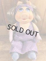 Fisher-Price Muppets Miss Piggy Plush Doll ミスピギー ビンテージ プラッシュドール マペッツ 80年代