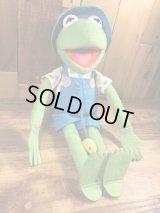 Kid Dimension Muppets Kermit the Frog Plush Doll カーミット ビンテージ プラッシュドール マペッツ 90年代