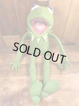 Fisher Price Muppets Kermit the Frog Plush Doll カーミット ビンテージ プラッシュドール マペッツ 70年代