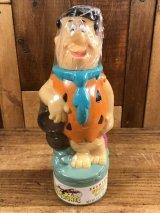 The Flintstones Fred Bubble Bath Bottle フレッド ビンテージ バブルバスボトル フリントストーン 90年代