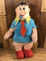 The Flintstones Fred Rubber Face Doll フレッド ビンテージ ラバーフェイスドール フリントストーン 60年代
