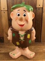 The Flintstones Barney Rubber Figure バーニー ビンテージ ラバードール フリントストーン 60年代