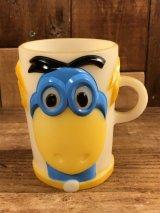 Flintstones Dino Plastic Mug ディノ ビンテージ マグカップ フリントストーン 60年代