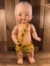 Ideal The Flintstones Bamm-Bamm Big Doll バンバン ビンテージ ドール フリントストーン 60年代