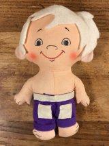 Knickerbocker The Flintstones Bamm-Bamm Mini Rag Doll バンバン ビンテージ ミニラグドール フリントストーン 70年代