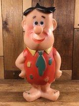 The Flintstones Fred Rubber Figure フレッド ビンテージ ラバードール フリントストーン 60年代