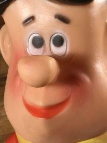 他の写真1: The Flintstones Fred Rubber Figure フレッド ビンテージ ラバードール フリントストーン 60年代