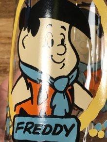 他の写真1: The Flintstones Kids Freddy Glass フリントストーンキッズ ビンテージ グラス フレディ 80年代