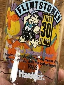 """他の写真2: The Flintstones The First 30 Years """"The Blessed Event"""" Glass フリントストーン ビンテージ グラス ガラスコップ 90年代"""