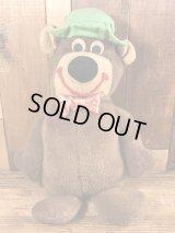 Knickerbocker Yogi Bear Plush Doll ヨギベア ビンテージ プラッシュドール ハンナバーベラ 70年代