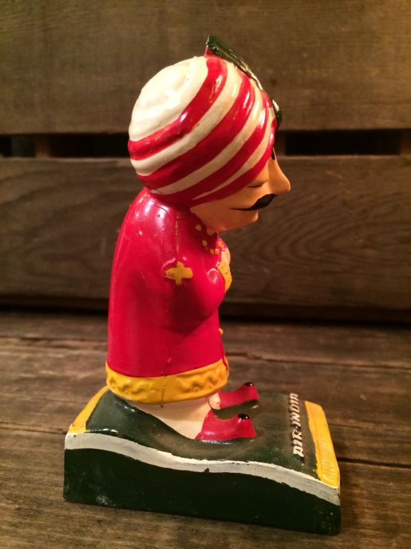 AIR-INDIA DISPLAY FIGURE ビンテージ エアーインディア マハラジャ 店頭用 ディスプレイ フィギュア アドバタイジング 企業キャラクター 企業物 トイ toy おもちゃ ヴィンテージ 70年代